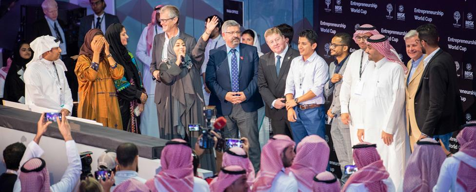 KAUST startups sweep wins at Misk's Entrepreneurship World Cup