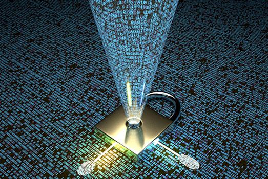 Patterned optical chips keep secrets perfectly safe