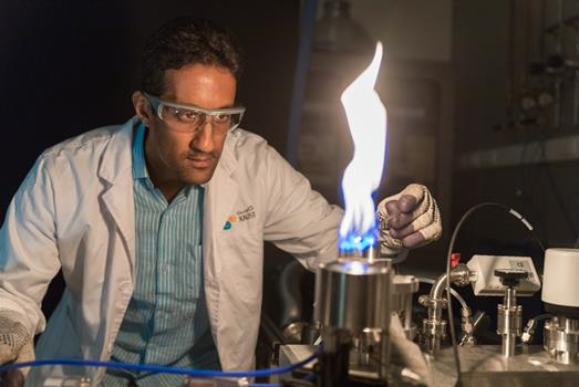 A burning ambition for clean fuel