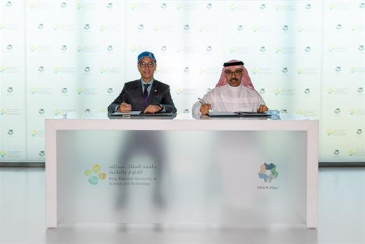 NEOM and KAUST partner on coral garden