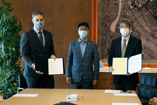 KAUST and NHK sign agreement to document the Red Sea