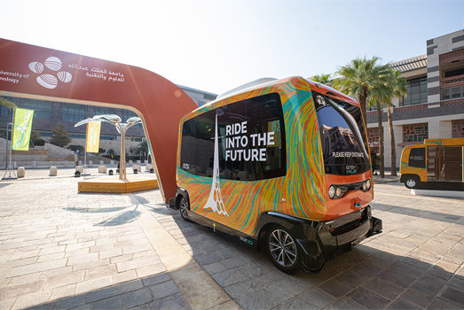 KAUST launches self-driving vehicles
