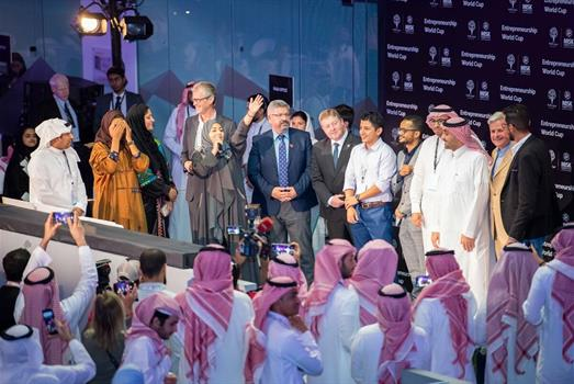 KAUST startups wins at Misk's Entrepreneurship World Cup