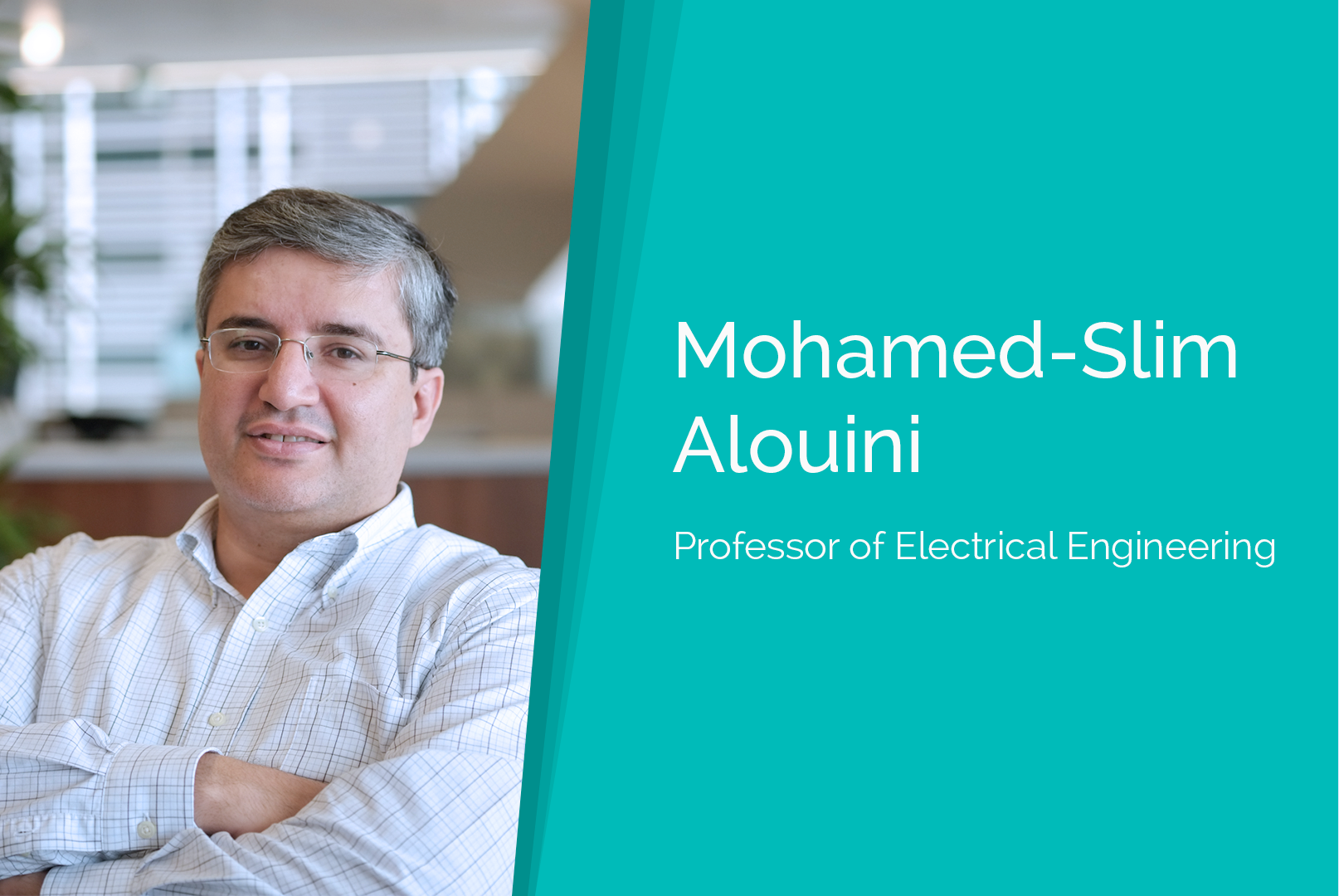 Mohamed-Slim Alouini honored at OIC Summit