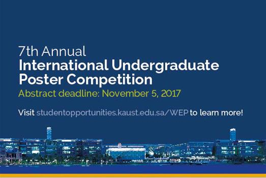 WEP Undergraduate Poster Competition