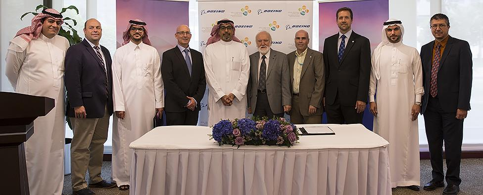 KAUST and Boeing renew MRA