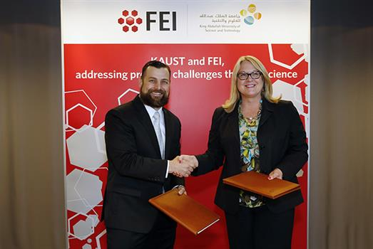 KAUST and FEI establish new electron microscopy Center of Excellence