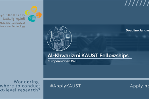 KAUST launches the call for Al-Khwarizmi doctoral fellowships